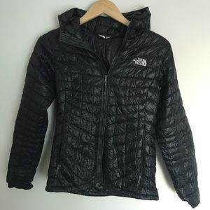 Black North Face Puffer Jacket